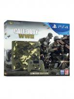 Příslušenství ke konzoli Playstation 4 Konzole PlayStation 4 Slim 1TB Cammo + Call of Duty: WWII