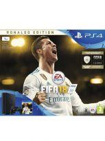 Příslušenství ke konzoli Playstation 4 Konzole PlayStation 4 Slim 1TB + FIFA 18 - Ronaldo Edition