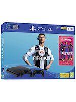 Příslušenství ke konzoli Playstation 4 Konzole PlayStation 4 Slim 1TB + FIFA 19 + extra DualShock 4
