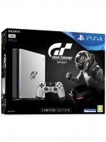 Příslušenství ke konzoli Playstation 4 Konzole PlayStation 4 Slim 1TB + Gran Turismo Sport - Limited Edition