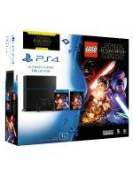 Pr�slu�enstvo ku konzole Playstation 4 PlayStation 4 (Ultimate Player 1TB Edition) - hern� konzola (1000GB) + LEGO Star Wars: The Force Awakens + film