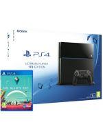 Příslušenství ke konzoli Playstation 4 PlayStation 4 (Ultimate Player 1TB Edition) - herní konzole (1000GB) + No Mans Sky