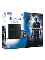 Příslušenství ke konzoli Playstation 4 PlayStation 4 (Ultimate Player 1TB Edition) - herní konzole (1000GB) + Uncharted 4: A Thiefs End