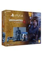 Príslušenstvo ku konzole Playstation 4 PlayStation 4 (Ultimate Player 1TB Edition) - herná konzola (1000GB) + Uncharted 4 CZ (Limited Edition)
