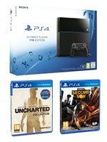 Příslušenství ke konzoli Playstation 4 PlayStation 4 (Ultimate Player 1TB Edition) - herní konzole (1000GB) + Uncharted ND Collection + Infamous: Second Son