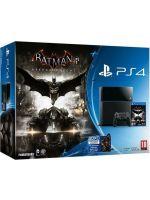 Příslušenství ke konzoli Playstation 4 PlayStation 4 - herní konzole (500GB) + Batma: Arkham Knight
