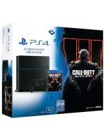 Príslušenstvo ku konzole Playstation 4 PlayStation 4 (Ultimate Player 1TB Edition) - herná konzola (1000GB) + COD: Black Ops III