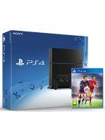 Příslušenství ke konzoli Playstation 4 PlayStation 4 - herní konzole (500GB) + FIFA 16 CZ