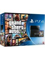 Príslušenstvo ku konzole Playstation 4 PlayStation 4 - herná konzola (500GB) + Grand Theft Auto V