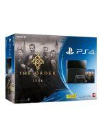 Příslušenství ke konzoli Playstation 4 PlayStation 4 - herní konzole (500GB) + The Order 1886