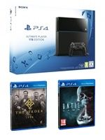 Příslušenství ke konzoli Playstation 4 PlayStation 4 (Ultimate Player 1TB Edition) - herní konzole (1000GB) + Until Dawn + The Order 1886