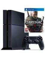 Příslušenství ke konzoli Playstation 4 PlayStation 4 - herní konzole (500GB) + Zaklínač 3 CZ