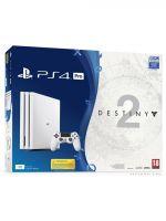 Příslušenství ke konzoli Playstation 4 PlayStation 4 Pro - herní konzole (1TB) (bílá) + Destiny 2