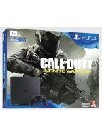 Príslušenstvo ku konzole Playstation 4 PlayStation 4 Slim - herná konzola (1TB) + Call of Duty: Infinite Warfare + 2 ovládače