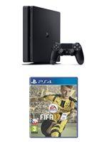 Příslušenství ke konzoli Playstation 4 PlayStation 4 Slim - herní konzole (1TB) + FIFA 17 CZ