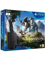Příslušenství ke konzoli Playstation 4 PlayStation 4 Slim - herní konzole (1TB) + Horizon: Zero Dawn