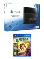Příslušenství ke konzoli Playstation 4 PlayStation 4 Slim - herní konzole (1TB) + Tearaway Unfolded