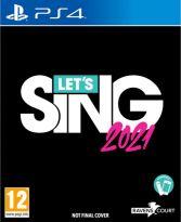 hra pro Playstation 4 Lets Sing 2021 + Mikrofon