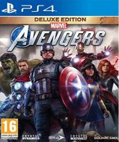 Marvels Avengers - Deluxe Edition CZ (PS4) + tričko + DLC Outfit Pack + prístupu do bety