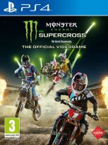 hra pro Playstation 4 Monster Energy Supercross – The Official Videogame