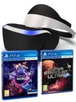 Příslušenství ke konzoli Playstation 4 PlayStation VR + VR Worlds & Super Stardust VR ZDARMA