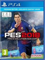 hra pre Playstation 4 Pro Evolution Soccer 2018 (Premium Edition)