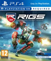 hra pre Playstation 4 RIGS: Mechanized Combat League