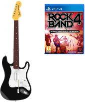 hra pro Playstation 4 Rock Band 4 + kytara