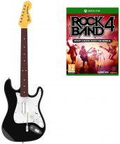 hra pre Xbox One Rock Band 4 + gitara