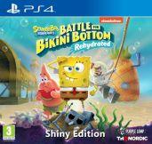 hra pre Playstation 4 Spongebob SquarePants: Battle for Bikini Bottom - Rehydrated - Shiny Edition
