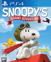 hra pre Playstation 4 Snoopys Grand Adventure