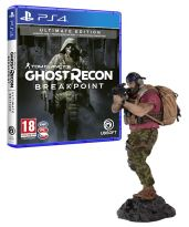 hra pro Playstation 4 Tom Clancys Ghost Recon: Breakpoint - Ultimate Edition + Figurka Nomada