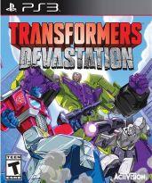 Hra pre Playstation 3 Transformers: Devastation