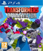 hra pre Playstation 4 Transformers: Devastation