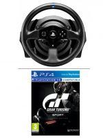 Příslušenství ke konzoli Playstation 4 Volant s pedály Thrustmaster T300 RS GT Edice + Gran Turismo Sport