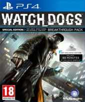 hra pre Playstation 4 Watch Dogs CZ (Special Edition)