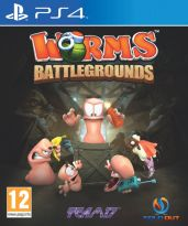 hra pro Playstation 4 Worms Battlegrounds