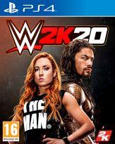 hra pro Playstation 4 WWE 2K20 - Steelbook Edition