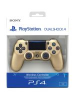 Gamepad DualShock 4 Controller v2 - Zlatý (PS4HW)