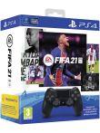 FIFA 21 + DualShock 4 ovladač černý