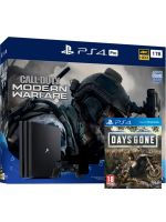Příslušenství ke konzoli Playstation 4 Konzole PlayStation 4 Pro 1TB + COD: Modern Warfare + Days Gone