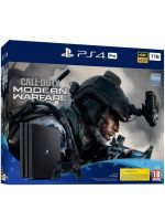 Konzola PlayStation 4 Pro 1TB + COD: Modern Warfare (PS4HW) + darček odznak frakcie + paracord narámok MW