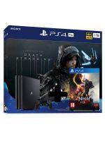 Příslušenství ke konzoli Playstation 4 Konzole PlayStation 4 Pro 1TB + Death Stranding + Nioh 2
