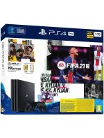 Konzola PlayStation 4 Pro 1TB + FIFA 21 (PS4HW) + darček tričko