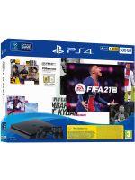 Příslušenství ke konzoli Playstation 4 Konzole PlayStation 4 Slim 500GB + FIFA 21 + 2x ovladač