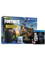 Příslušenství ke konzoli Playstation 4 Konzole PlayStation 4 Slim 500 GB + Fortnite + The Last of Us Part II
