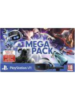 Príslušenstvo ku konzole Playstation 4 PlayStation VR v2 + kamera + 5 her