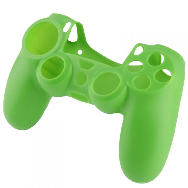 Silikonový kryt na Dualshock 4 (zelený)  Příslušenství ke konzoli Playstation  4 ... d96ba7da472