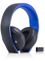 Príslušenstvo ku konzole Playstation 4 Bezdrôtové slúchadlá SONY PS4 Wireless Stereo Headset 2.0 (čierne)