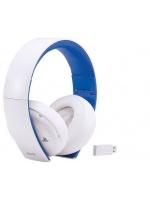 Príslušenstvo ku konzole Playstation 4 Bezdrôtové slúchadlá SONY PS4 Wireless Stereo Headset 2.0 (biele)